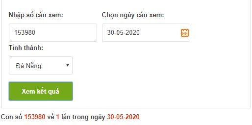 Dò vé số Đà Nẵng online trực tuyến