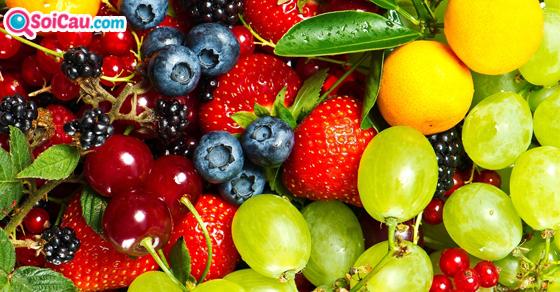Nằm mơ thấy trái cây là số mấy?